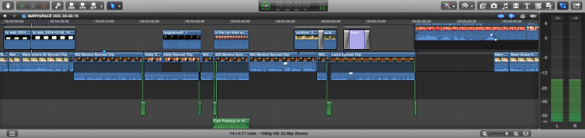 Final Cut Pro Editing