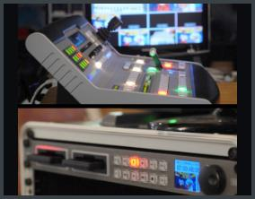 Blackmagic ATEM 1 and Hyperdeck